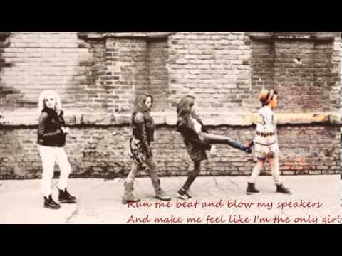 Little Mix - Stereo Soldier (lyrics)