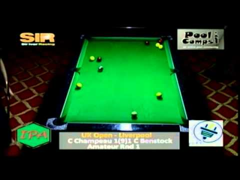 UK Open 2013 Liverpool - C Champeau v C Benstock