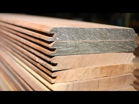 """Making Some 7 /16"""" Walnut Tongue And Groove Paneling On The Router Table"""