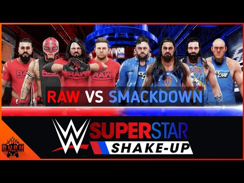 WWE 2K19 RAW