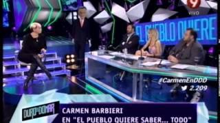 EL PUEBLO QUIERE SABER - CARMEN BARBIERI - PRIMERA PARTE - 04-06-14