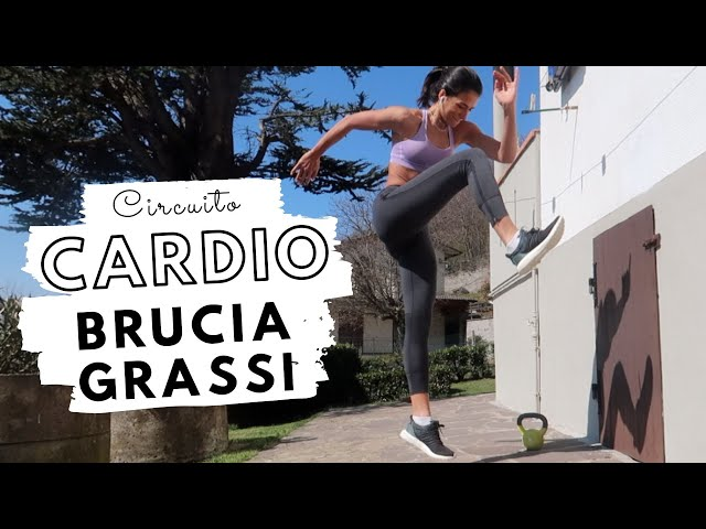 CARDIO A CASA: AGILITA' & POTENZA | Silvia Fascians