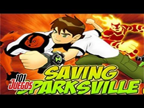 Juegos de Ben 10: Saving Sparksville
