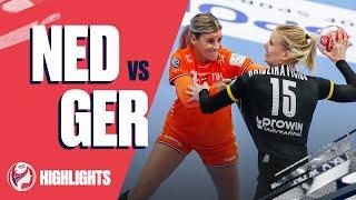 Highlights Netherlands vs Germany Main Round Women s EHF EURO 2020