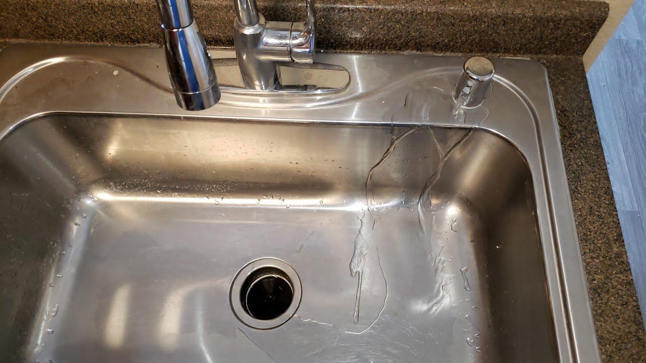 air gap leaking water easy fix guaranteed