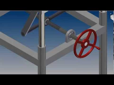 Adjustable Table Design Animation