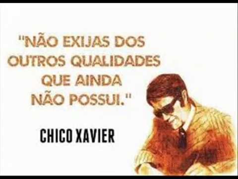 Frases Para Reflexão Chico Xavier R Fabro Youtube