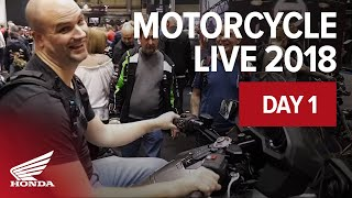 Honda at Motorcycle Live Overview 17.11.18