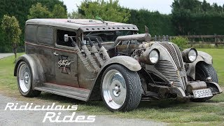 Mechanic Builds 130mph Rat Rod | RIDICULOUS RIDES