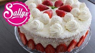 Muttertagstorte / Erdbeer-Kokos-Torte / Mothers Day / Torte zum Muttertag