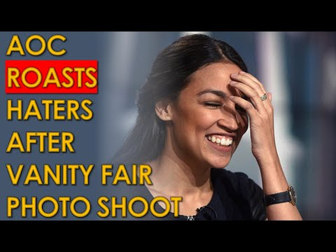AOC's Vanity fair Clothes and Photoshoot FREAKS OUT Fox News Host Laura Ingraham