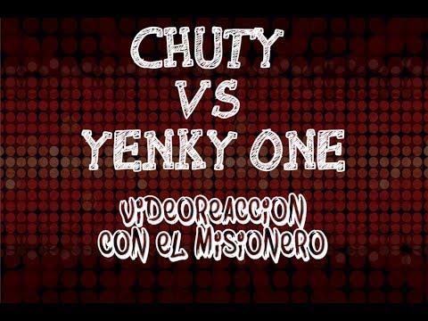 MISIONERO Y YO REACCIONANDO EN DIRECTO A YENKY ONE VS CHUTY - FINAL INTERNACIONAL RB BDLG 2017