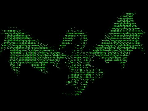 One Line Ascii Art Bat : ☆how to make: awesome batch files☆ youtube