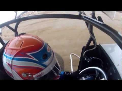 Chris Andrews Attica Raceway Park Heat Race