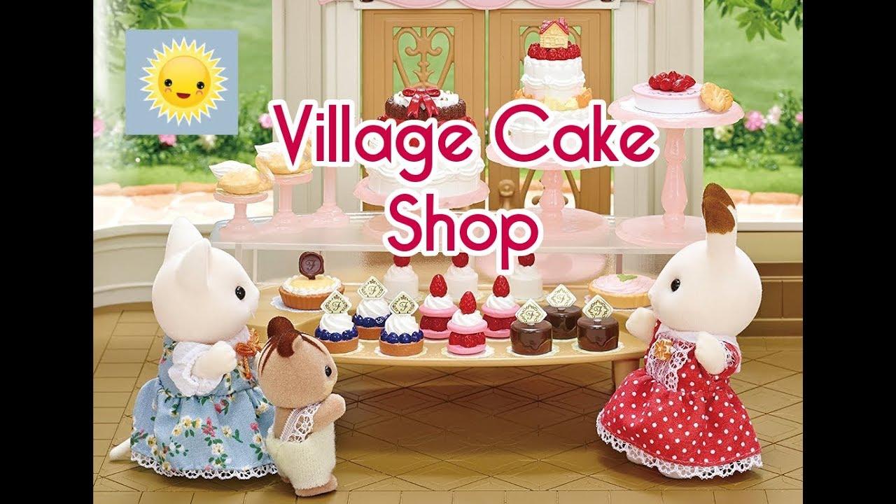 Sylvanian Families Village Cake Shop La Nuovissima Pasticceria Dei Dolci Animali Di Sylvania