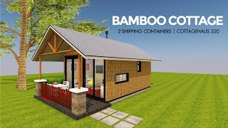 Bamboo Cottage:  Shipping Container Design with Floor Plans
