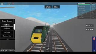 Roblox Terminal Railways Class 43 (HST) GWR Northwell to Eldershire Central After a Derailment