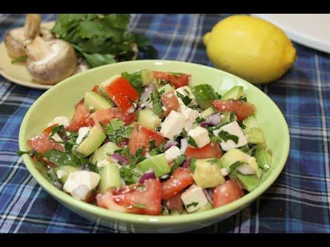 Салаты из морепродуктов. Как приготовить салат из