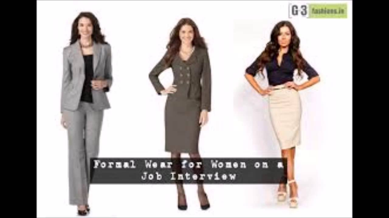 How To Dress Up For Interviews Women Youtube