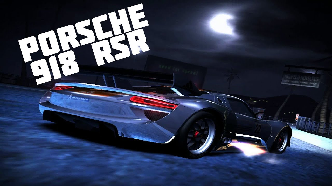 need for speed carbon porsche 918 rsr car mod youtube. Black Bedroom Furniture Sets. Home Design Ideas