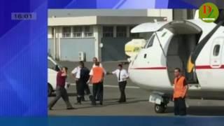نجاة الخطوط الجوية الجزائرية من كارثة في مطار هواري بومدين 2016