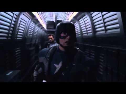 Captain America  The First Avenger Train scene poster