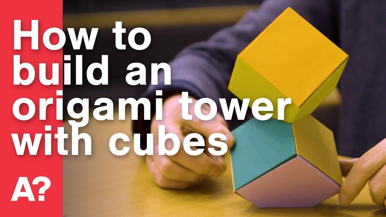 Tutorial 8 Paper Folding Hexagonal Column or Tower With Zig Zag ... | 720x1280