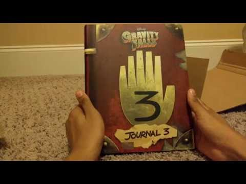 Gravity falls journal 3 unboxing part 1