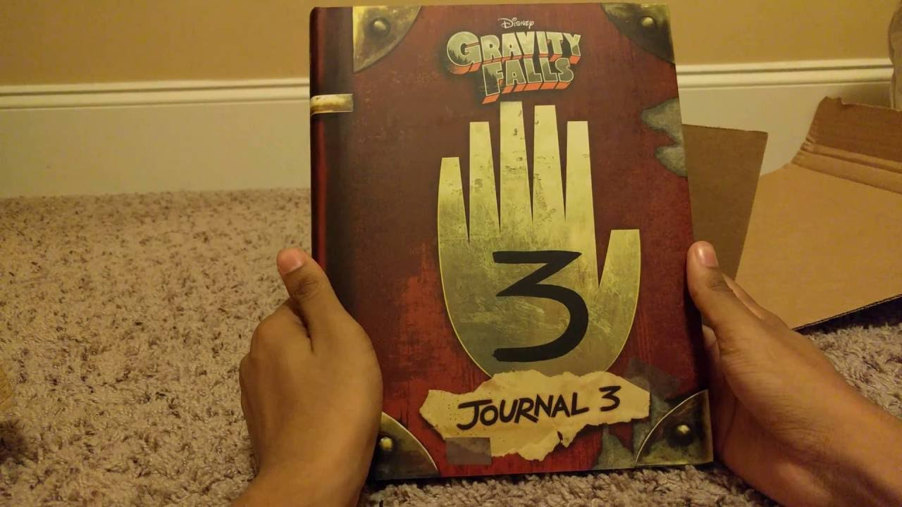 how to make the gravity falls journal