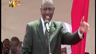 Deputy President Ruto justifies his movements, says he follows orders