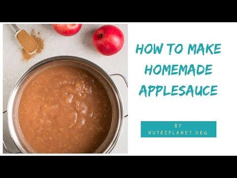 Homemade Applesauce Video