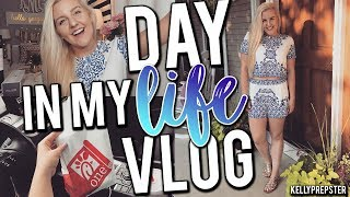 A DAY IN MY LIFE VLOG!!! SHOP WITH ME & HAUL 2017    Kellyprepster