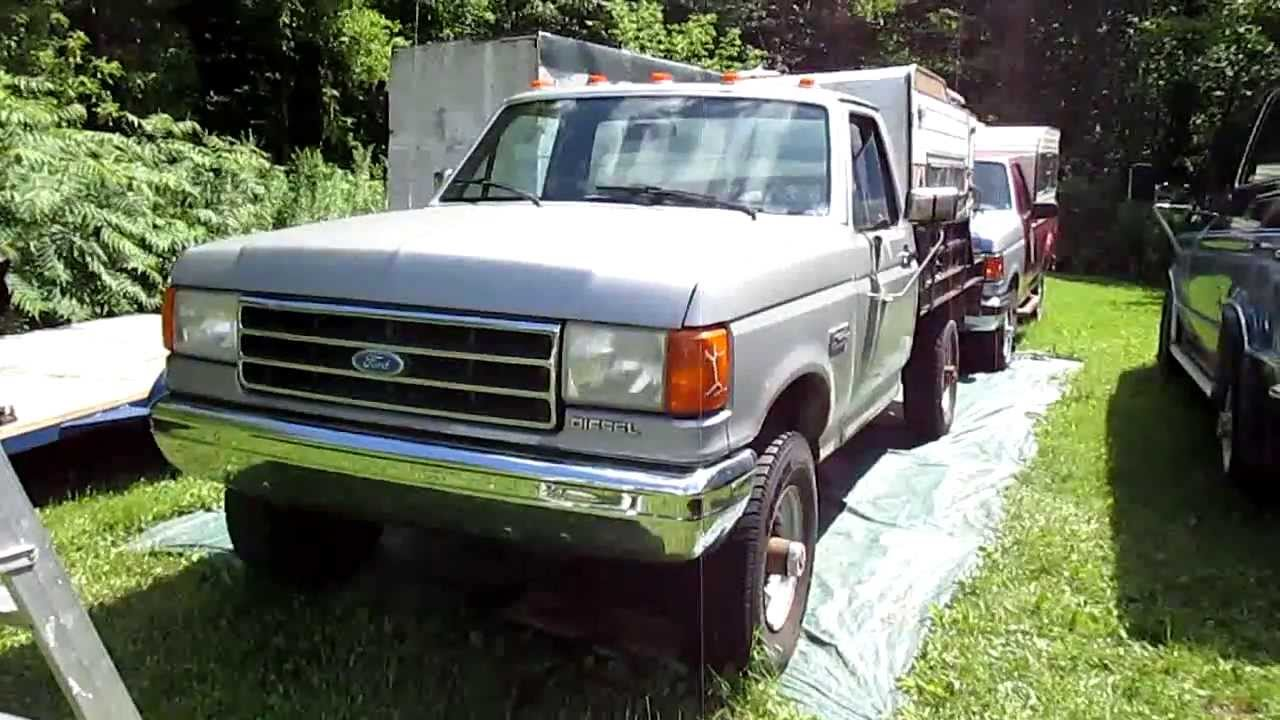 hight resolution of fix glow plug controller and cold start 1991 f350 4x4 diesel and update
