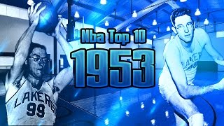 NBA Top 10 Players 1952-1953 Regular Season