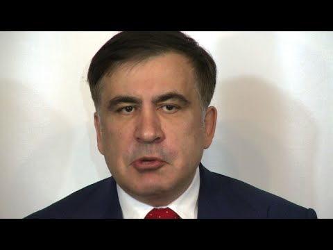 Saakashvili counting on help of supporters to return to Kiev