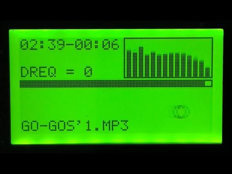 MP3 Player for dsPic - Part 4 (Spectrum Analyser)