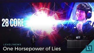 Level1 News June 13 2018: One Horsepower of Lies