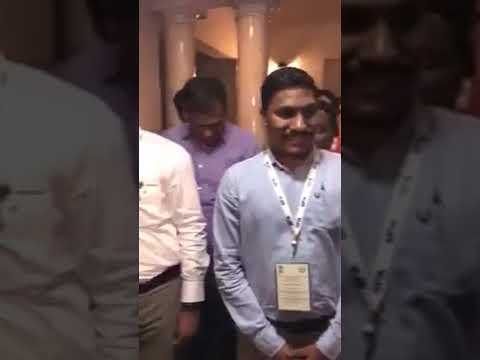 Lady officer from Maharashtra sing song for Sharad Pawar saheb
