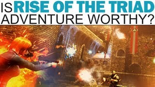 Adventure Worthy - Rise of the Triad (First Impressions) thumbnail