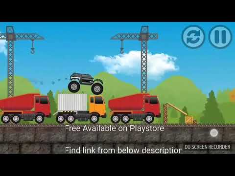Monster Truck Game Free Available On Play Store