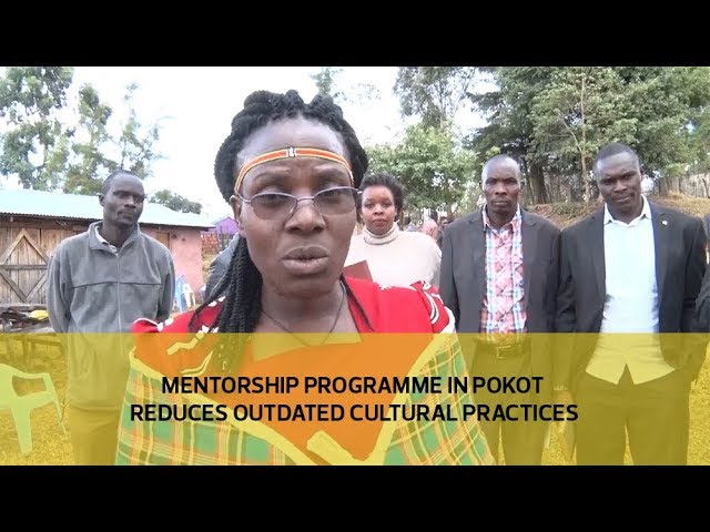 Mentorship programme in Pokot reduces outdated cultural practices