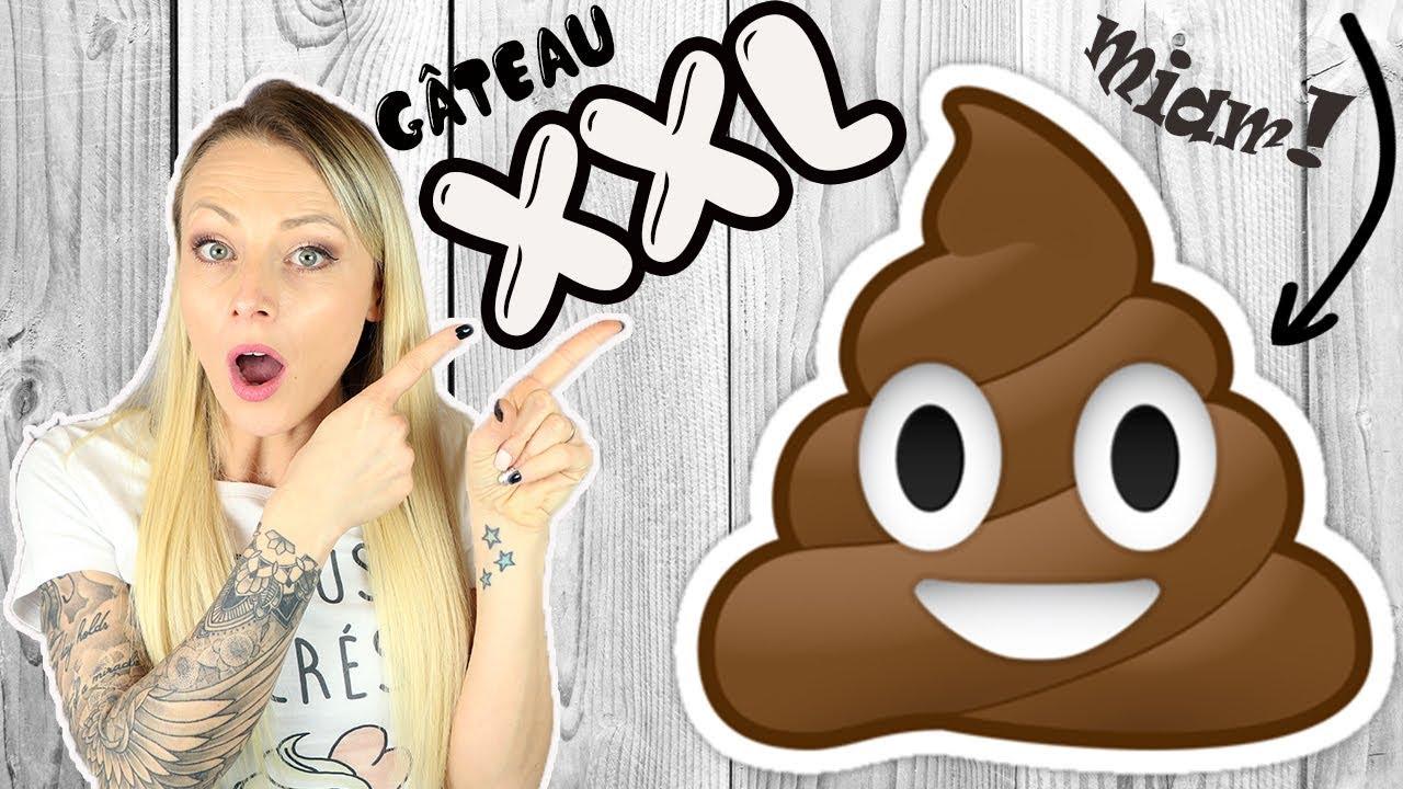 Gateau Emoji Poop Xxl Recette Kawaii Youtube