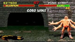 Mortal Kombat (1992) HD! [Arcade Game] Gameplay