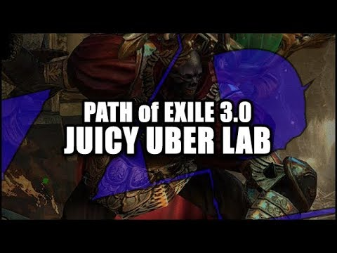 Path of Exile: 3.0 Uber Labyrinth is Pretty JUICY! - First Run Endgame Lab