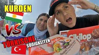 KURDEN probieren TÜRKISCHE Süßigkeiten!!! | Heracay