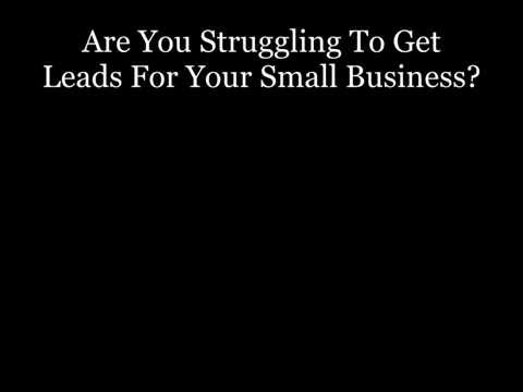 Small Business Lead Generation| How To Attract Leads To Your Business.