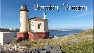 Bandon, Oregon. The Town and beaches.