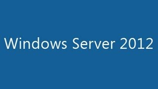 Windows Server 2012 Step-by-Step Installation