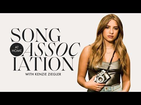 Kenzie Ziegler Sings Justin Bieber, Billie Eilish, and Outkast in a Game of Song Association | ELLE