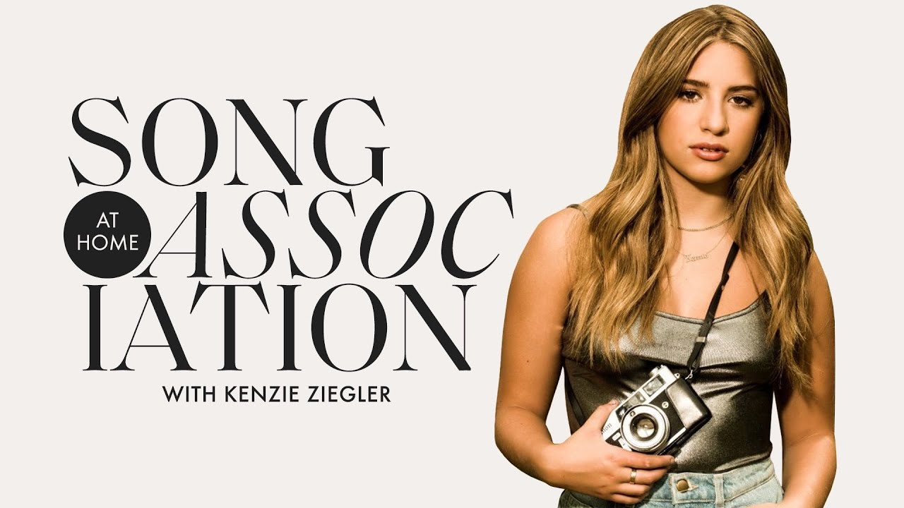 Kenzie Ziegler Sings Justin Bieber, Billie Eilish, and Outkast in a Game of Song Association